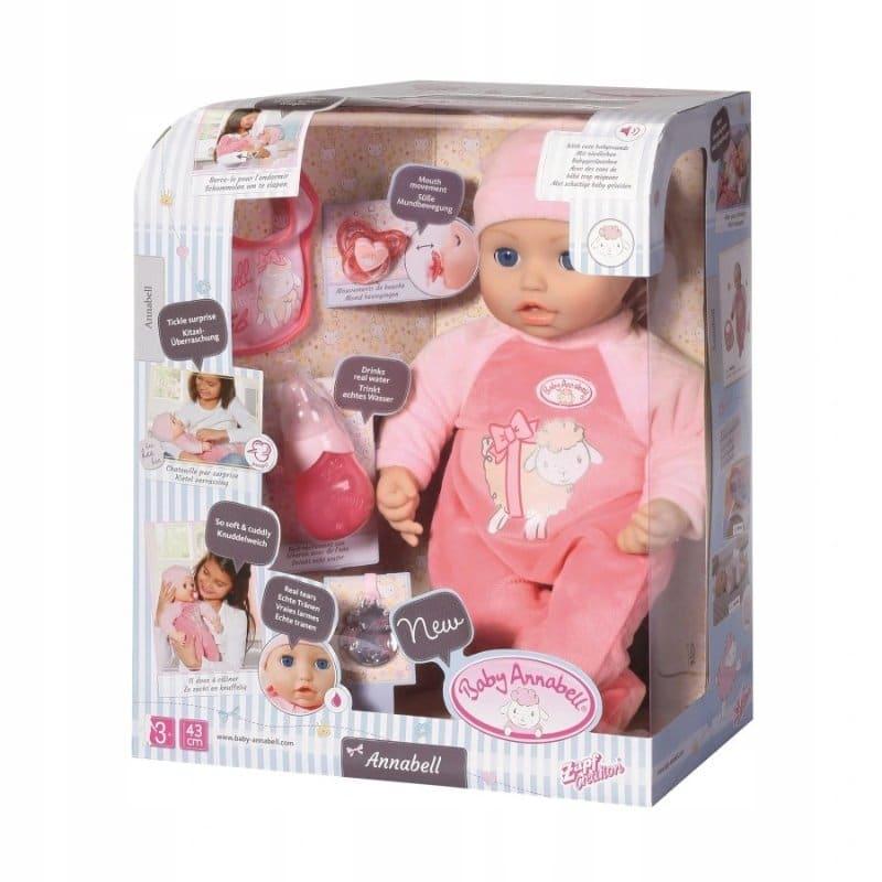 BABY ANNABELL 43CM INTERACTIVE DOLL - Juniors Toyshop