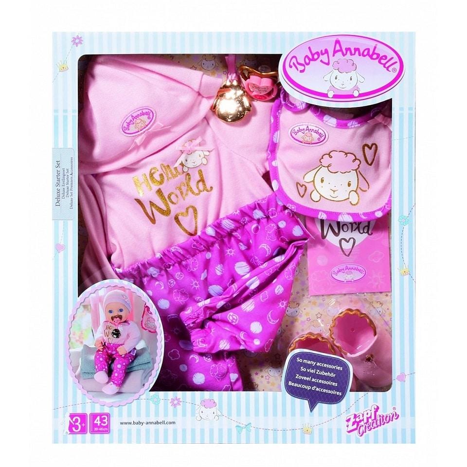 BABY ANNABELL DELUXE STARTER SET 43CM - Juniors Toyshop